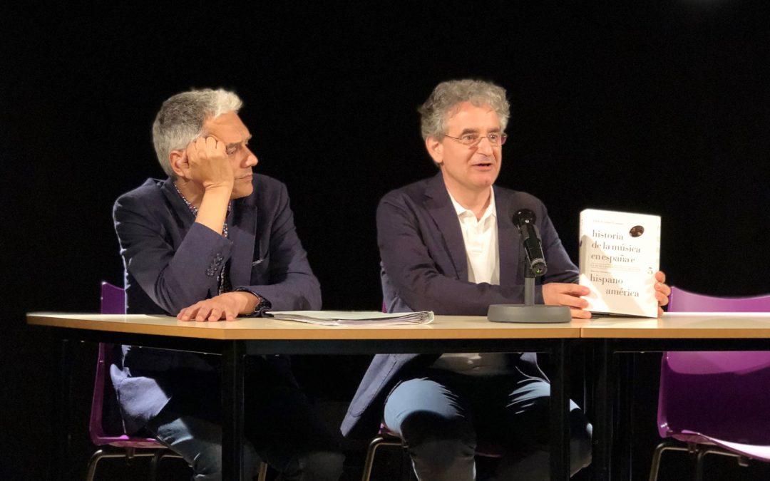 """Presentació a València del llibre """"La música en España en el siglo XIX"""""""