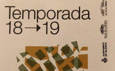 Presentació temporada 2018/19 Palau de la Música de València