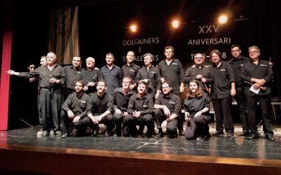 """XXV Aniversari de la Colla de dolçaines i tabals """"Sarabanda"""""""