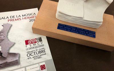 Premi Hermes a l'Escola de Música 2018