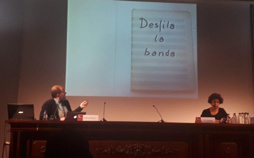 """Comunicació al Congrés """"Música a la llum"""". València 13 de desembre 2018"""
