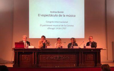 """Breu crónica del Congrés """"El patrimoni musical de la Corona d'Aragó (1418-1707)"""""""
