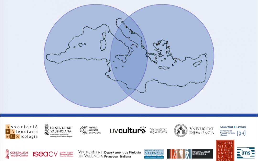 """Congrés AVAMUS """"La Mediterrània: sons migrants"""". Programa definitiu i inscripcions. València, 23-25 de juliol del 2019"""