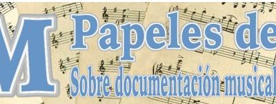 """Publicación """"Documentación musical"""" de Cristina Martí-Martínez"""